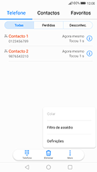 Huawei P8 Lite (2017) - Chamadas - Como bloquear chamadas de um número -  4