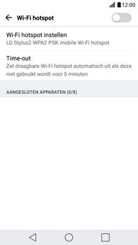 LG K520 Stylus 2 DAB+ - WiFi - Mobiele hotspot instellen - Stap 5