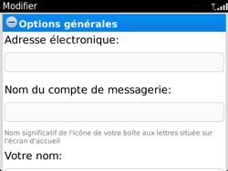 BlackBerry 9360 Curve - E-mail - Configuration manuelle - Étape 10