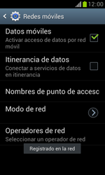 Samsung S7560 Galaxy Trend - Red - Seleccionar una red - Paso 11
