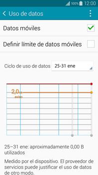 Samsung N910F Galaxy Note 4 - Internet - Ver uso de datos - Paso 8