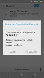Sony D5503 Xperia Z1 Compact - Bluetooth - connexion Bluetooth - Étape 9
