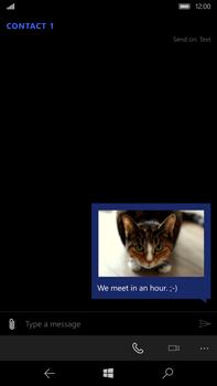 Microsoft Lumia 950 XL - Mms - Sending a picture message - Step 14