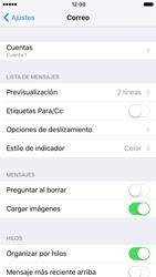 Apple iPhone 6 iOS 10 - E-mail - Configurar correo electrónico - Paso 15
