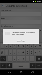 Sony Xperia M2 (D2303) - E-mail - Handmatig instellen - Stap 15