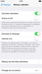 Apple iPhone 6 iOS 8 - Aller plus loin - Désactiver les données à l'étranger - Étape 4