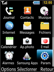 Samsung S5610 Primo - Réseau - utilisation à l'étranger - Étape 6