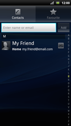Sony Ericsson Xperia Arc S - Email - Sending an email message - Step 6