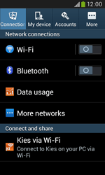 Samsung Galaxy Trend Plus S7580 - Internet - Enable or disable - Step 4