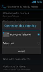 Bouygues Telecom Bs 402 - Internet et connexion - Désactiver la connexion Internet - Étape 7
