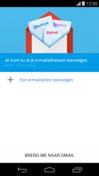 Motorola Moto G (1st Gen) (Kitkat) - E-mail - handmatig instellen (gmail) - Stap 5