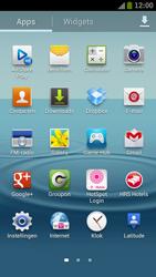 Samsung I9300 Galaxy S III - Contacten en data - Contacten kopiëren van toestel naar SIM - Stap 3