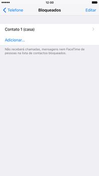 Apple iPhone 6s Plus - Chamadas - Como bloquear chamadas de um número -  7