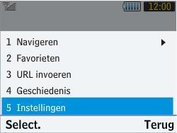 Samsung S3570 Chat 357 - Internet - Handmatig instellen - Stap 16