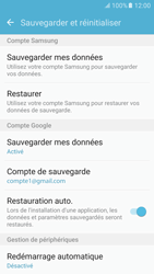 Samsung Galaxy S6 - Android M - Device maintenance - Back up - Étape 10