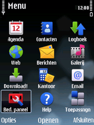 Nokia E75 - MMS - handmatig instellen - Stap 3