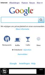 Nokia Lumia 710 - Internet - Hoe te internetten - Stap 5