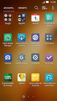 Asus Zenfone Go - Funções básicas - Como restaurar as configurações originais do seu aparelho - Etapa 3