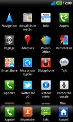 LG P970 Optimus Black - Internet - Activer ou désactiver - Étape 3