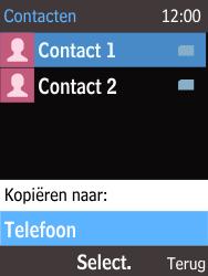 Nokia 220 - Contacten en data - Contacten kopiëren van SIM naar toestel - Stap 7