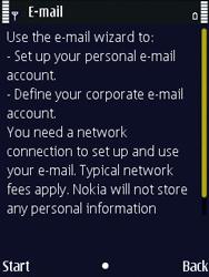 Nokia N86 - E-mail - Manual configuration - Step 6