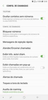 Samsung J4+ - Chamadas - Como bloquear chamadas de um número específico - Etapa 6