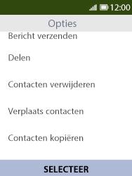 Nokia 8110-ta-1071 - Contacten en data - Contacten kopiëren van SIM naar toestel - Stap 5