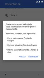 Motorola Moto G5 - Primeiros passos - Como ativar seu aparelho - Etapa 12