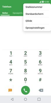 LG G6 (LG-H870) - Voicemail - Handmatig instellen - Stap 4