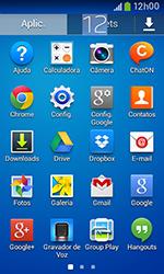 Samsung Galaxy Grand Neo - Rede móvel - Como ativar e desativar uma rede de dados - Etapa 3