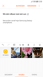 Samsung Galaxy A5 (2017) - Android Nougat - E-mail - Bericht met attachment versturen - Stap 12
