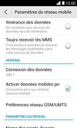 Huawei Ascend Y330 - Internet - activer ou désactiver - Étape 5