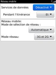 BlackBerry 9800 Torch - Internet - Activer ou désactiver - Étape 5