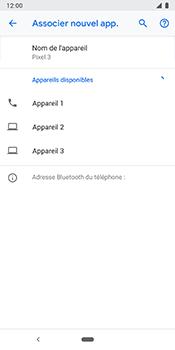 Google Pixel 3 - Bluetooth - Jumeler avec un appareil - Étape 9