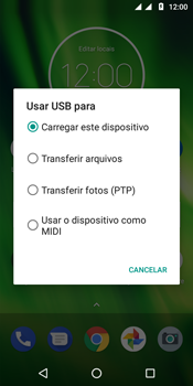 Motorola Moto G6 Play - Conexão com pc - Transferir dados do telefone para o computador (Windows) - Etapa 9
