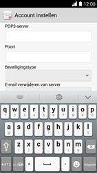Huawei Ascend Y530 - E-mail - Account instellen (POP3 zonder SMTP-verificatie) - Stap 9