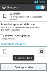 LG E610 Optimus L5 - Bluetooth - koppelen met ander apparaat - Stap 11