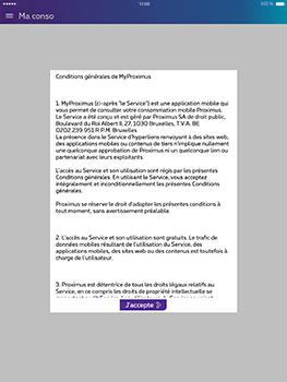 Apple iPad Pro 9.7 - iOS 10 - Applications - MyProximus - Étape 12