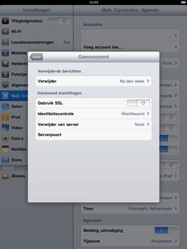 Apple iPad 2 - E-mail - Handmatig instellen - Stap 16