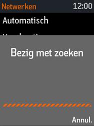 Nokia 3310 3G (TA-1022) - Netwerk selecteren - Handmatig een netwerk selecteren - Stap 8