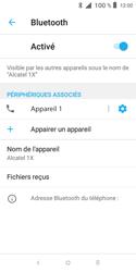 Alcatel 1X - Internet et connexion - Connexion avec un équipement multimédia via Bluetooth - Étape 11