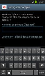 Samsung S7390 Galaxy Trend Lite - E-mail - Configurer l