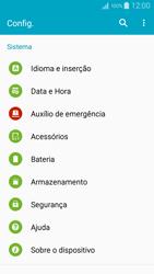 Samsung Galaxy A5 - Primeiros passos - Como encontrar o número de IMEI do seu aparelho - Etapa 4