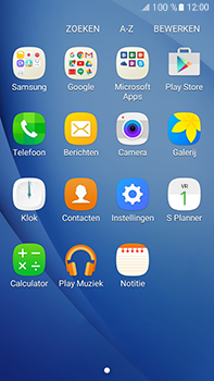 Samsung J710 Samsung Galaxy J7 (2016) - E-mail - handmatig instellen (outlook) - Stap 3