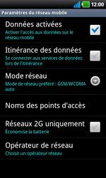 LG P920 Optimus 3D Speed - Réseau - Utilisation à l