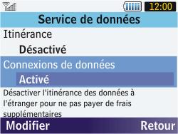 Samsung S3570 Chat 357 - Internet - activer ou désactiver - Étape 6
