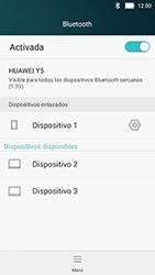 Huawei Y5 - Bluetooth - Conectar dispositivos a través de Bluetooth - Paso 8