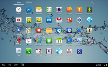 Samsung P5100 Galaxy Tab 2 10-1 - Messagerie vocale - configuration manuelle - Étape 4