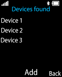 Nokia 108 - WiFi and Bluetooth - Setup Bluetooth Pairing - Step 10