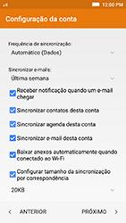 Lenovo Vibe K5 - Email - Como configurar seu celular para receber e enviar e-mails - Etapa 10